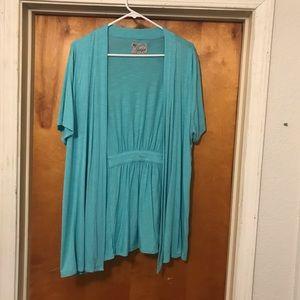 Short sleeve cardigan